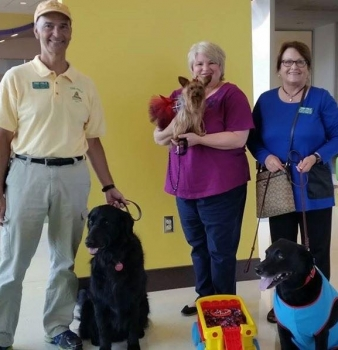 Paw Pals Visits Tulsa Dog Training Club